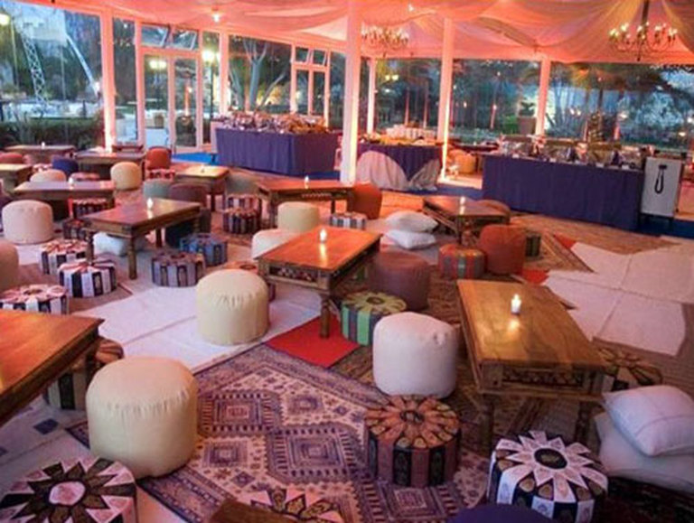 Arabian Themed Seating