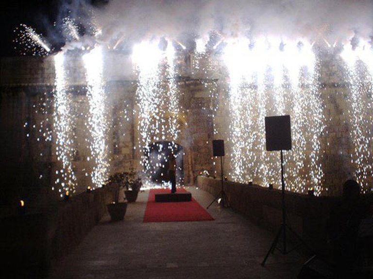 Rent Pyro Waterfalls Service in Malta