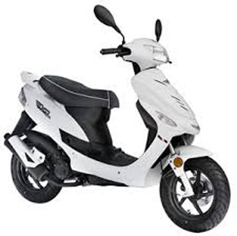Rent An Over B1 Scooter 50cc In Malta