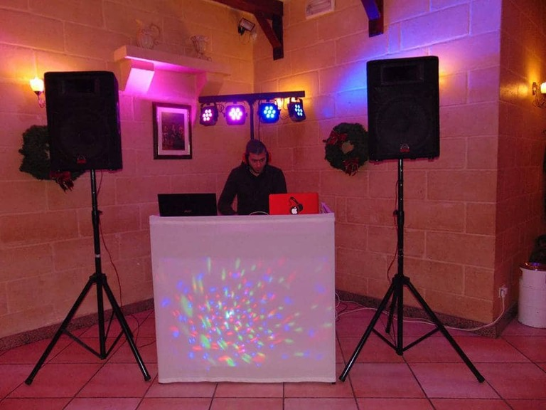 DJ and Sound System for rent in Malta