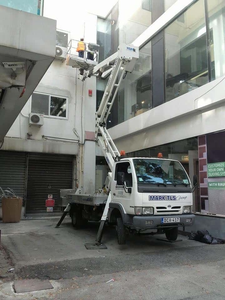 Cherry Picker for rent in Malta