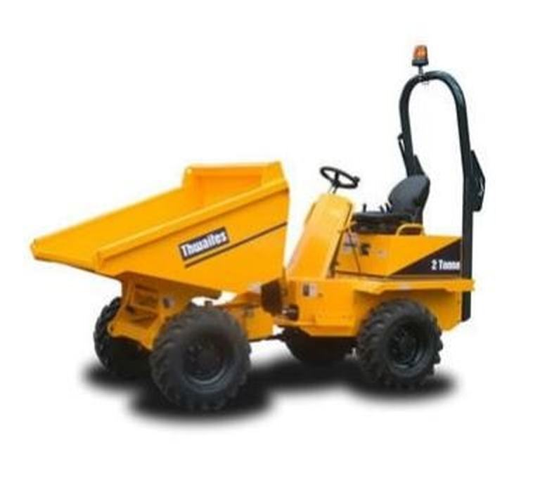 Front Load Dumper for rent in Malta