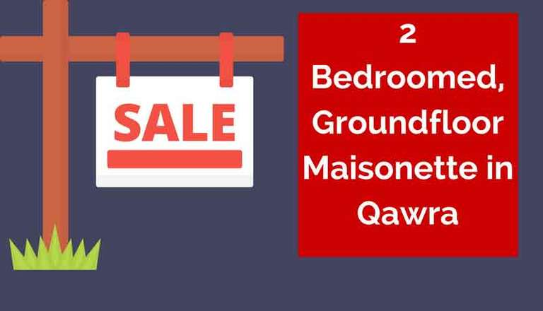 2 Bedroom Groundfloor Maisonette for Sale in Qawra