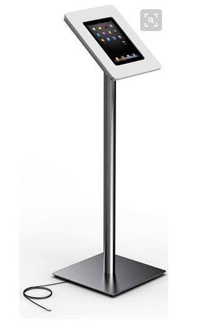 Exhibition Stand Hire Rates : Universal tablet display floor stand for rent in malta