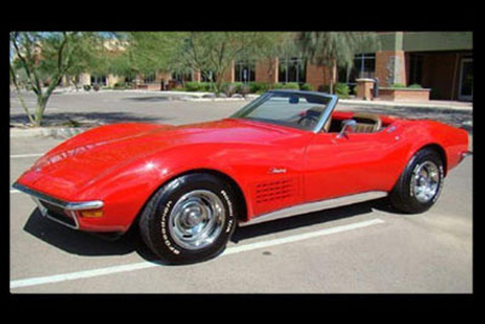 Rent Corvette Stingray >> 1971 Corvette Convertible Stingray For Rent In Malta Malta Rentals