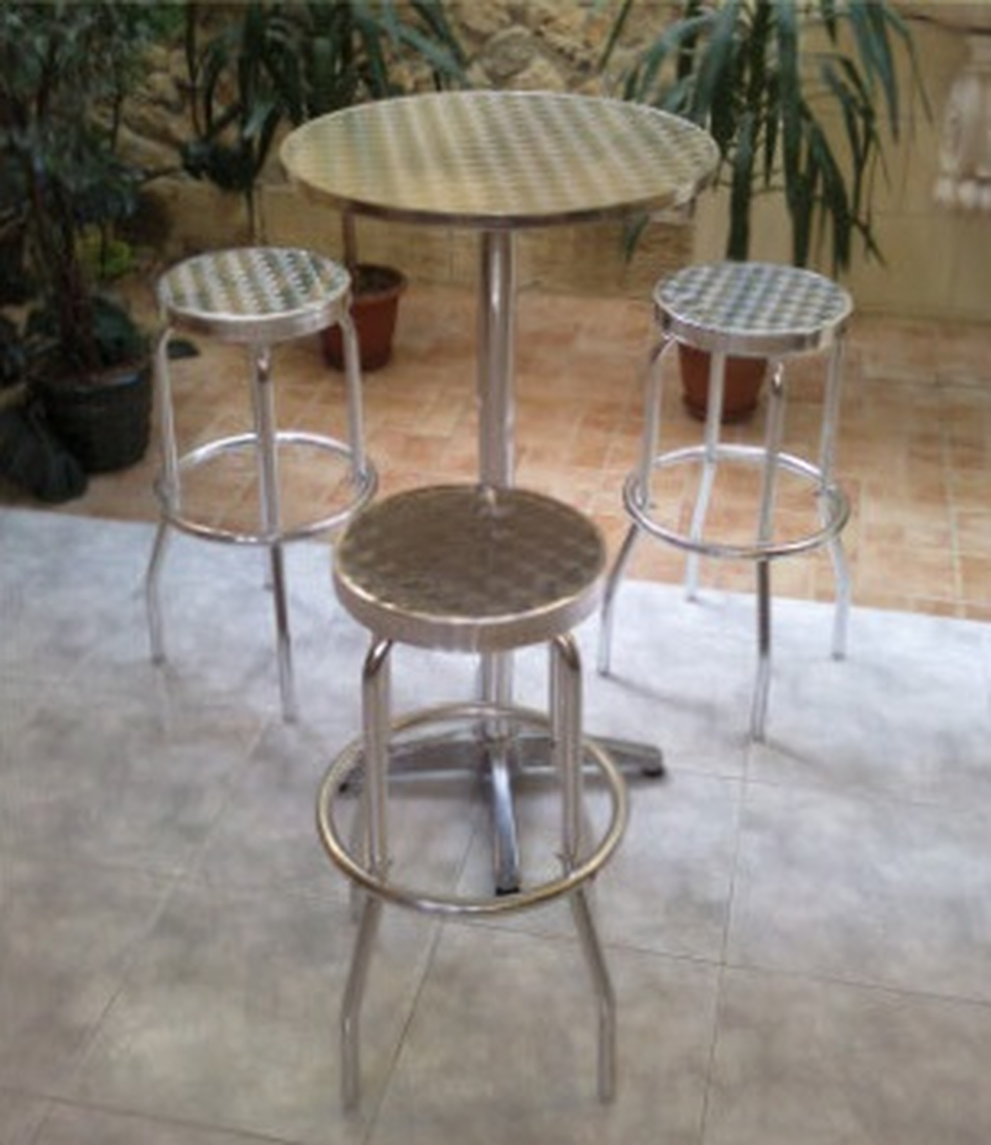 Kitchen Stools Malta: Rent Aluminium Tables & Stools In Malta.