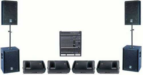 Audio-Visual rentals